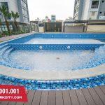 Đẳng cấp bể bơi thu hút khách hàng tại chung cư ở Hà Nội