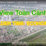 View toàn cảnh tiến độ dự án chung cư Ecohome 3 – Goldentime